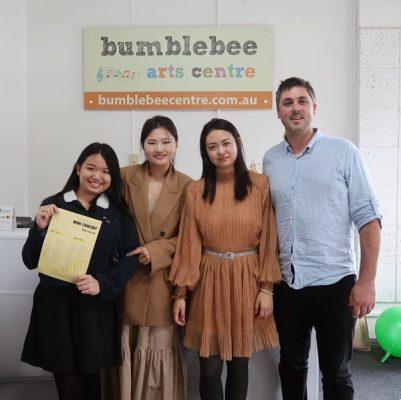 music awards winner at Bumblebee